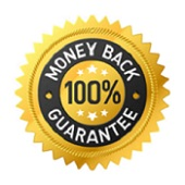 100% Money Back Guarantee Badge